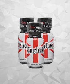 English 25ml x3